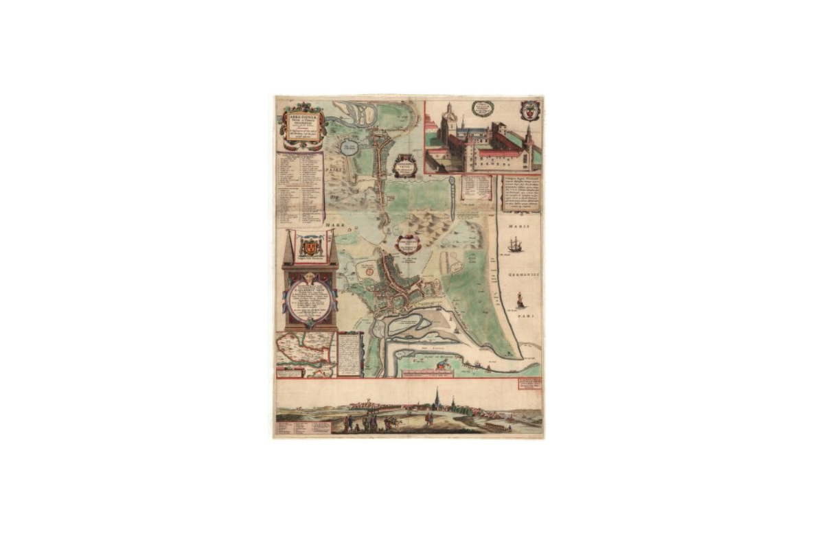 An early map of Aberdeen: National Library of Scotland.