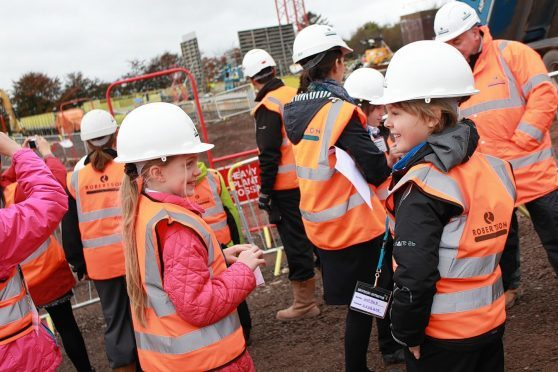 Robertson Group has welcomed thousands of children and young people to classroom talks, workshops and site visits