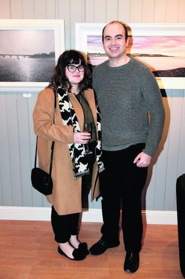 Sarah James and Steven Massie.