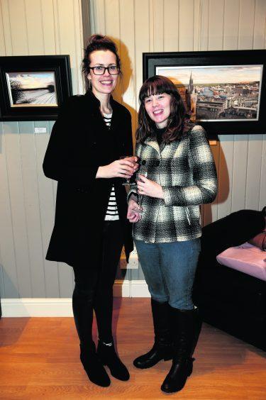 Karen Campbell and Nicola Smart.