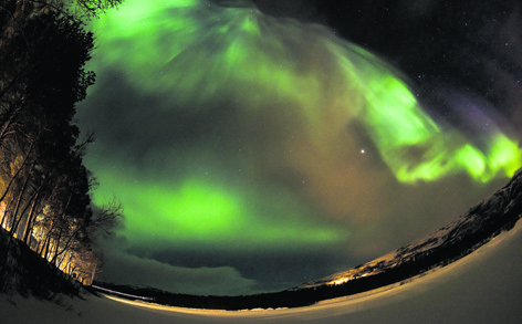 Combine a wilderness adventure with an opportunity to see the Northern Lights in Norway