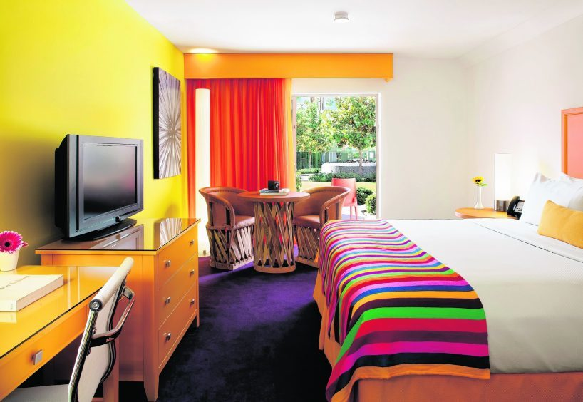 guest room at the Saguaro
