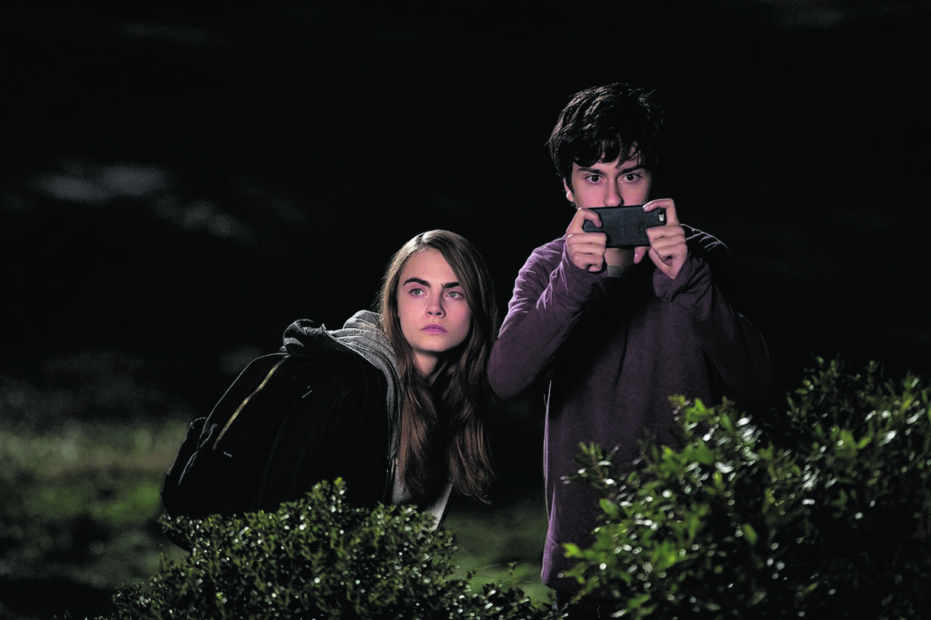 Cara Delevingne and Nat Wolff go on a night-time revenge mission in Paper Towns