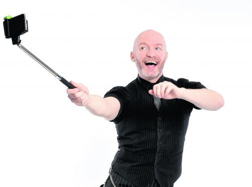 Comedian Craig Hill will host The Red Hot Highland Fling in Inverness. Photo: Steve Ullathorne