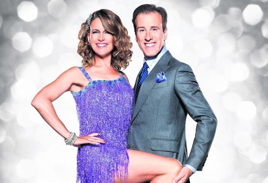 Katie Derham and Anton Du Beke will compete in the final of Strictly Come Dancing this weekend