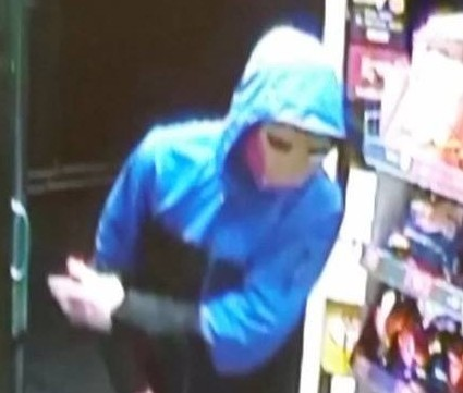 CCTV image from the shop