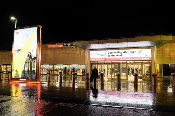 A full emergency was declared at Aberdeen International Airport