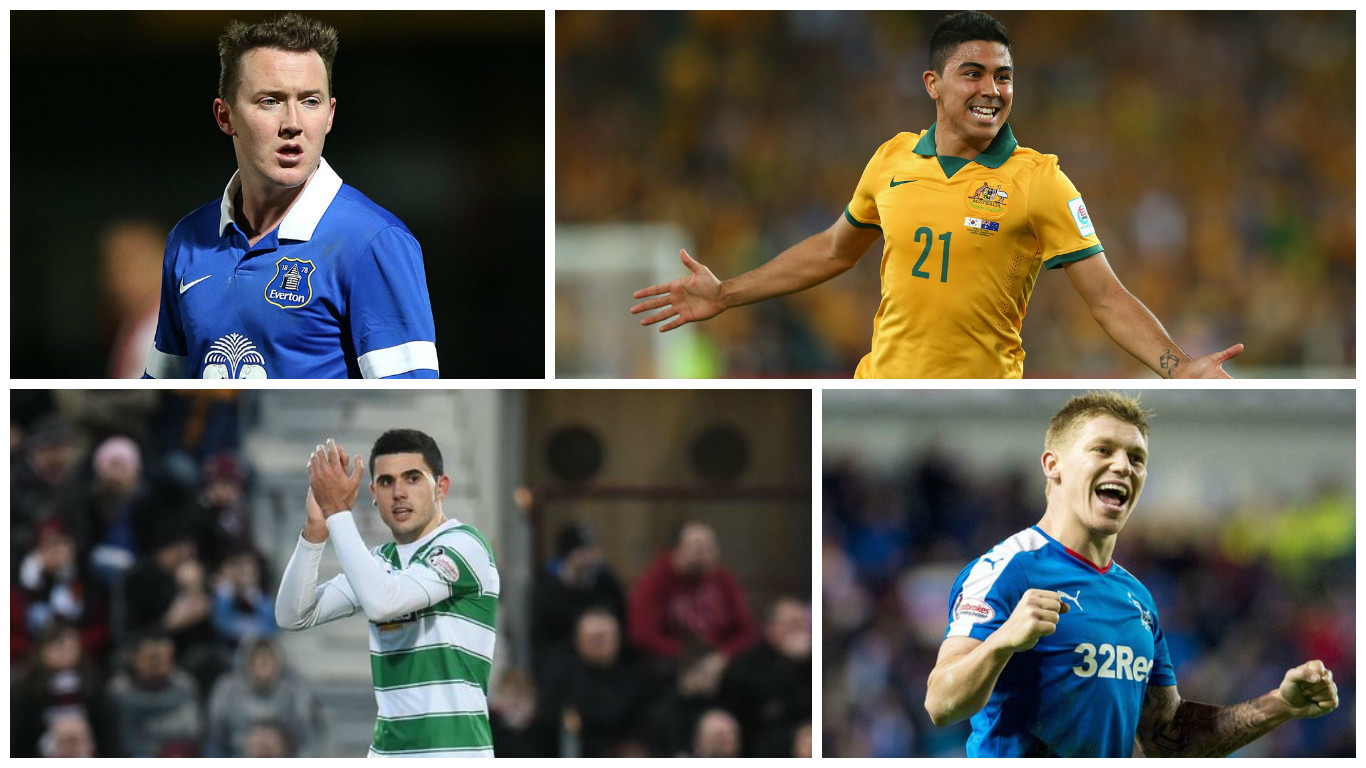Aiden McGeady, Massimo Luongo, Tom Rogic and Martyn Waghorn have all been linked with January moves