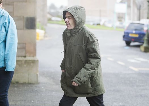 Andrew McConnachie at Forfar Sheriff Court today