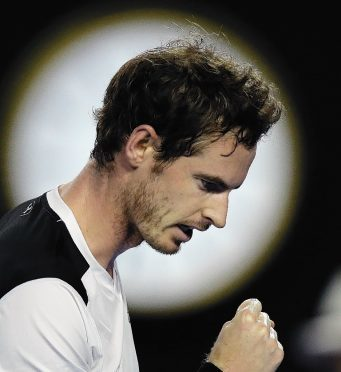 Murray is bidding to win his first Australian Open