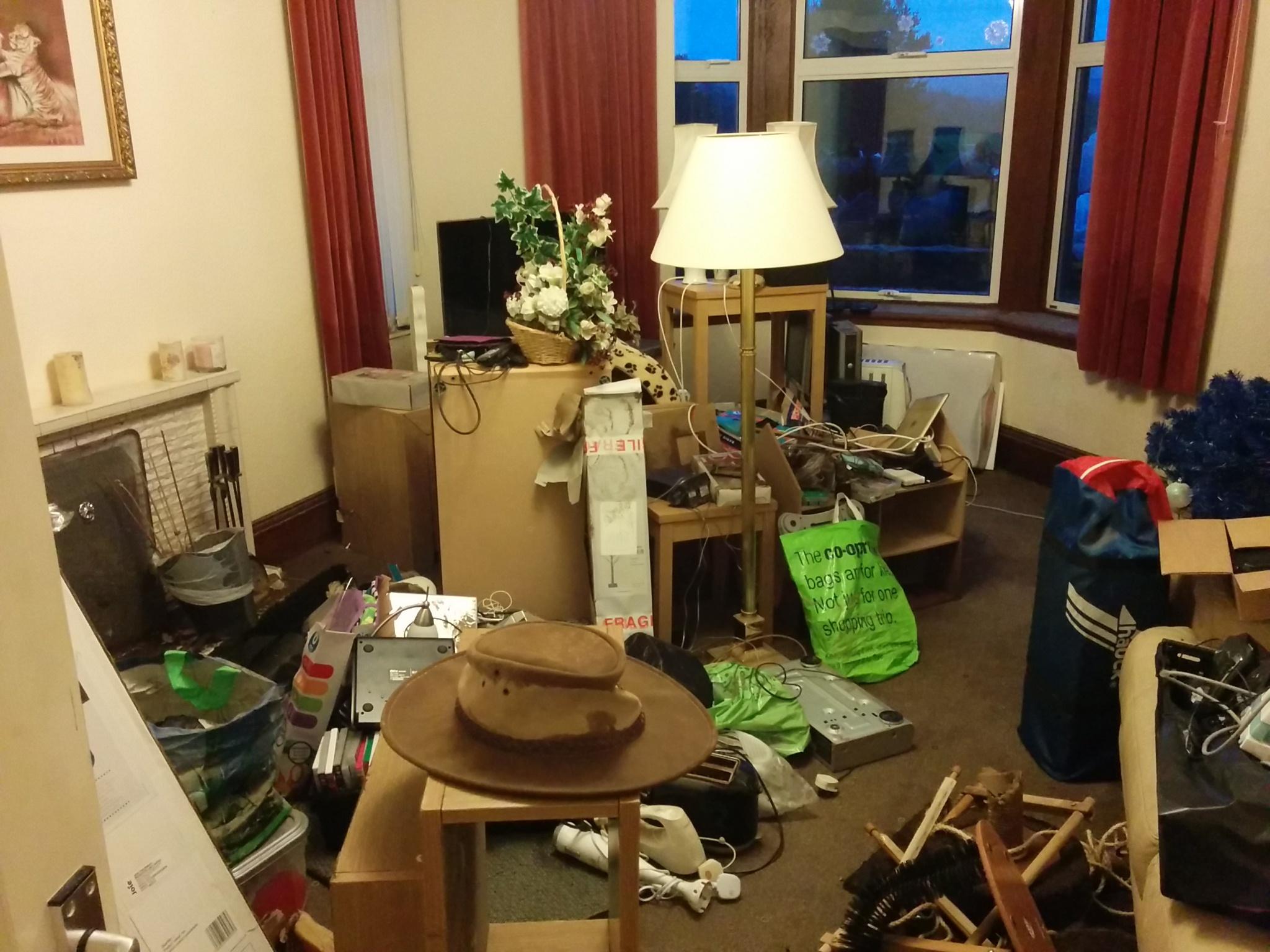 Ian Payne's living room