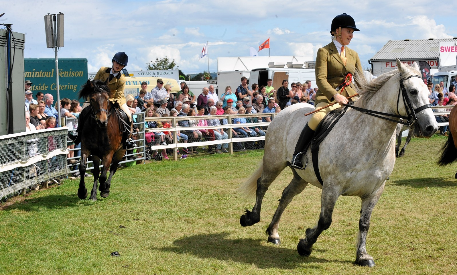 The horse show at the Black Isle made a five-figure loss last year.
