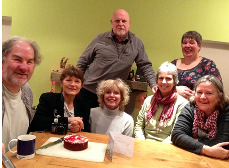 Members of The Dark Island Celidh Band which has helped raise funds for charity. Photo, left to right:  Charlie West, Angie Bolt, Flora Douglas, Maurice Henderson, Lynn Middleton, Cathy Simpson and Caroline Clark.