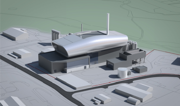 A new vision of how the incinerator could look.