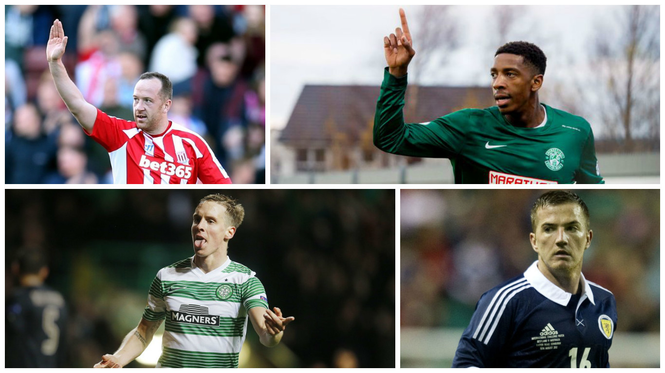 Charlie Adam, Dominique Malonga, Stefan Johansen and Ross McCormack have all been linked with moves today