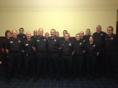Alasdair Hay met with staff at Operations Control and Service Delivery North on Monday night
