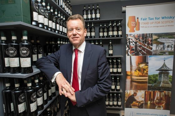 CEO of The Scotch Whisky Association, David Frost