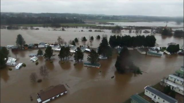 Deeside Holiday Park was one of a number of places in the north-east devastated by floods