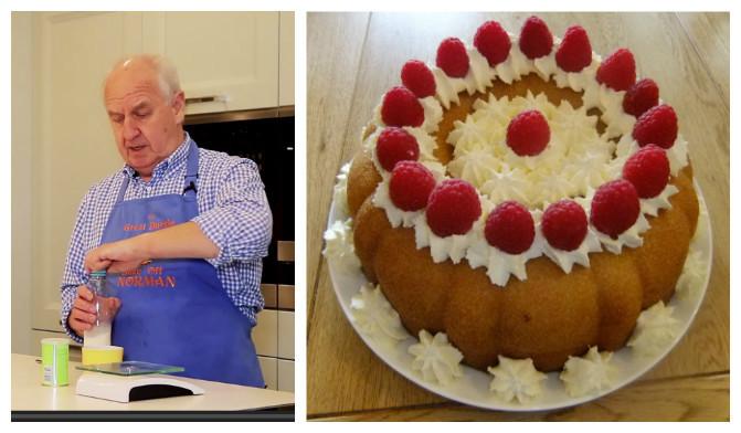 Norman Savrin Cake