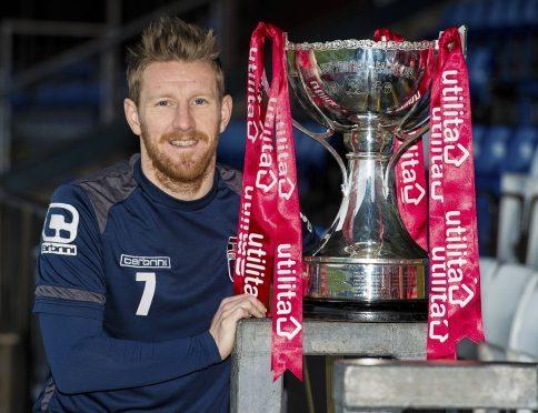 Ross County's Michael Gardyne began his career at Celtic