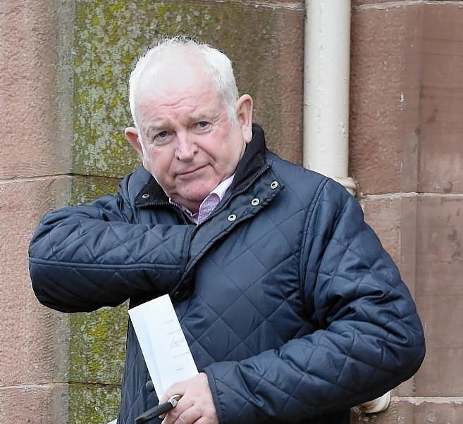 Brodie farmer, George Elder leaves Inverness Sheriff Court