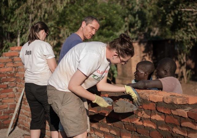 Helping to rebuild Malawian school