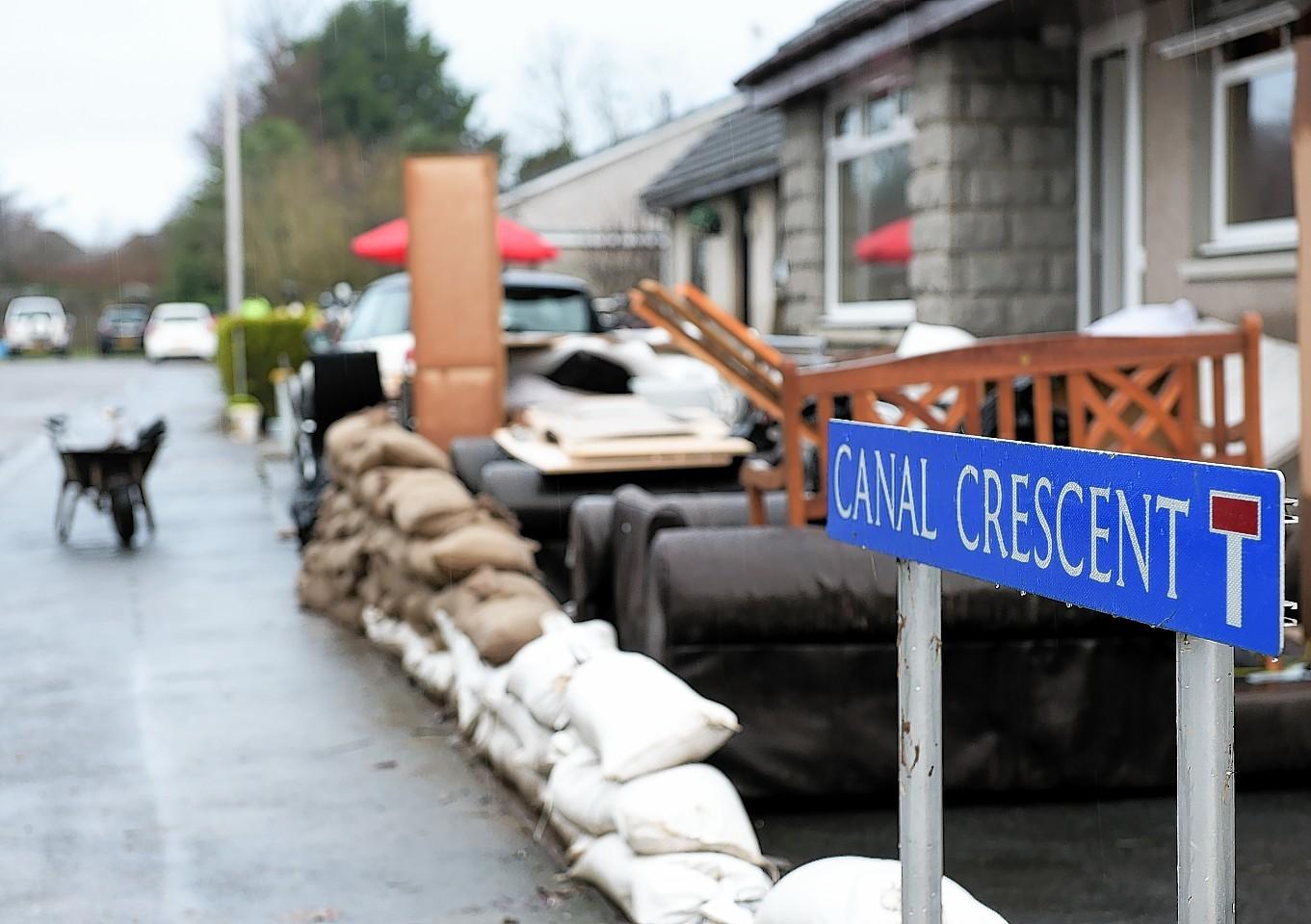 Inverurie floods