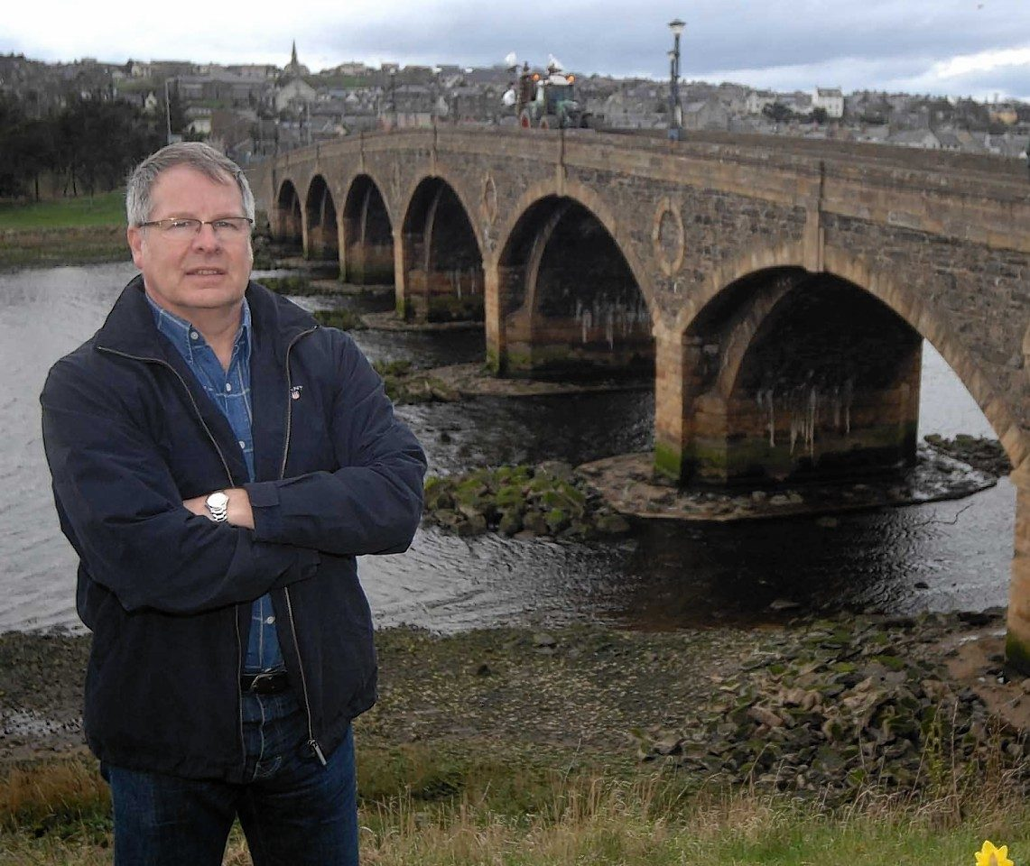 Banff councillor John Cox is backing the new promotional video