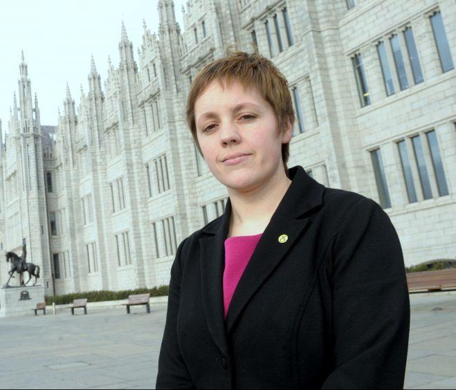 Kirsty Blackman is encouraging women to seek support