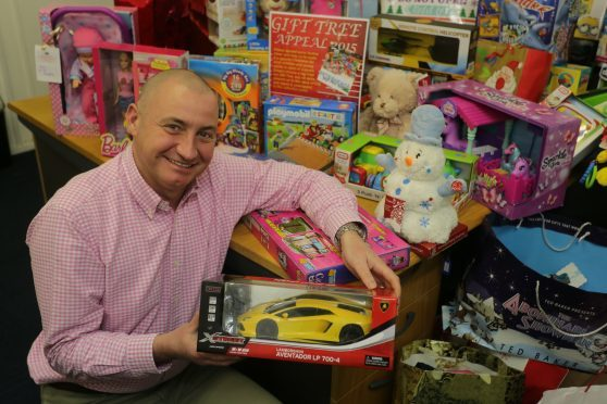 Ken Duncan has previously overseen community projects in Peterhead such as the Gift Tree.
