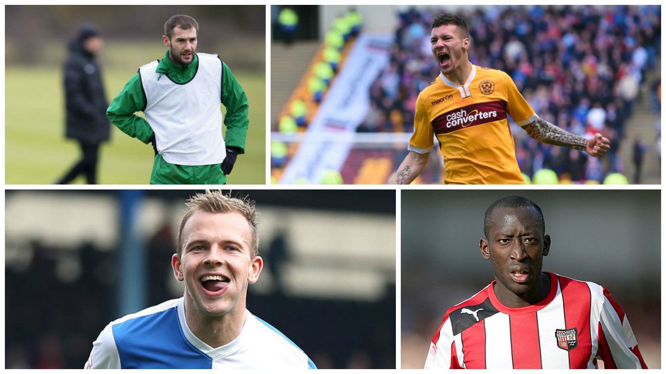 Kevin Thomson, Marvin Johnson and Jordan Rhodes have been linked with moves, while Toumani Diagouraga has joined Leeds