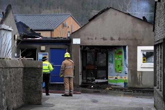 An investigation has been launched into the blaze at Kinellar School