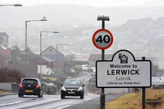 Shetland capital Lerwick