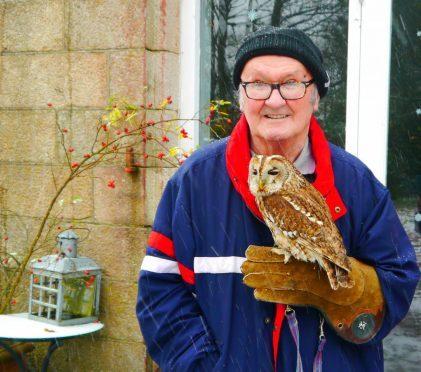 Members of MHA's befriending scheme visited the wildlife centre.