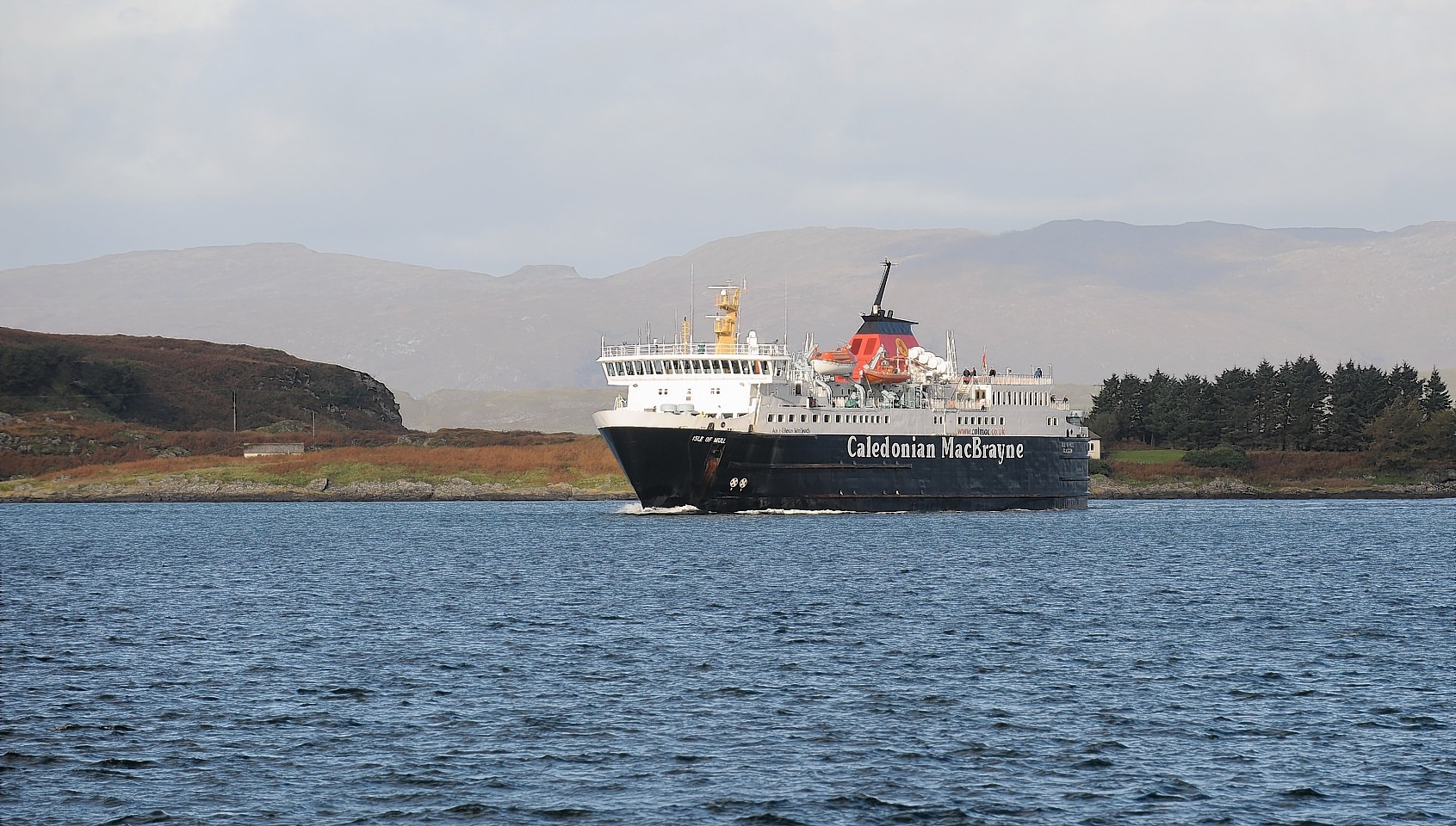 Passengers on the Isle of Mull ferry will be treated to a special performance.