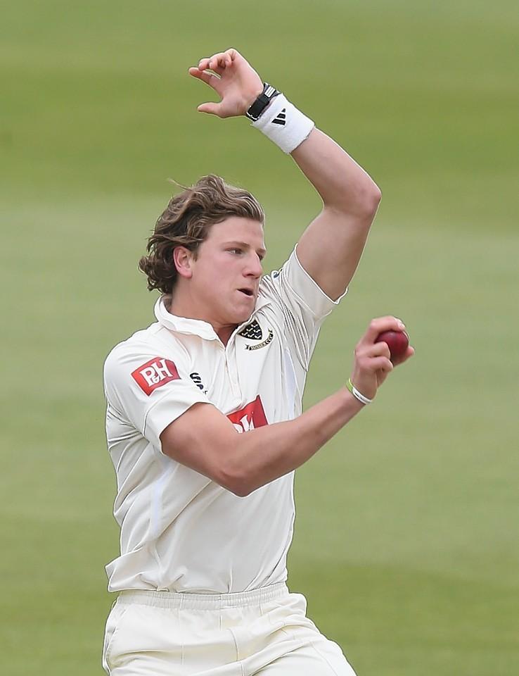 Matthew Hobden in action for Sussex