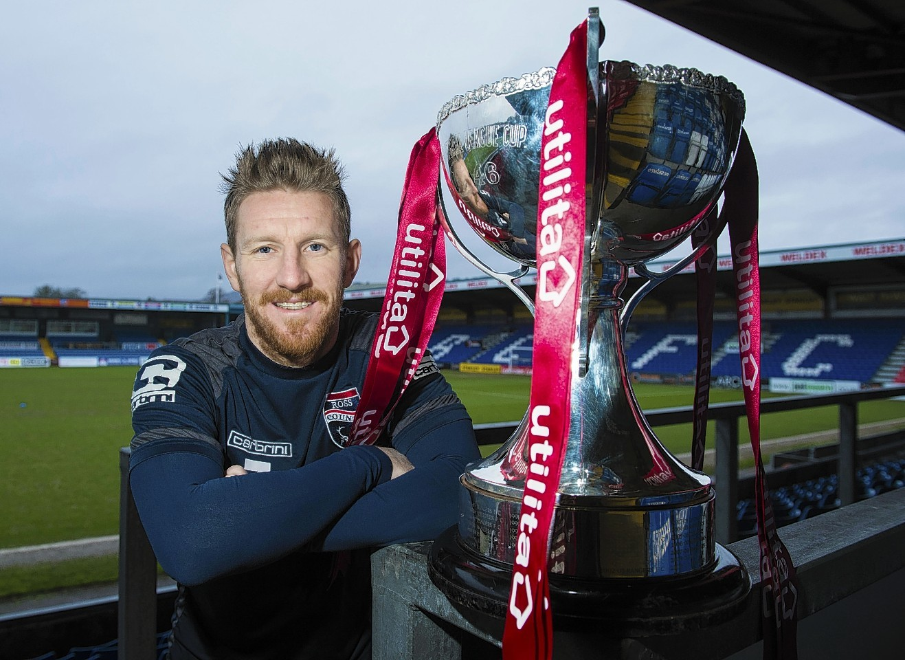 Michael Gardyne is eager to get his hands on the League Cup trophy.