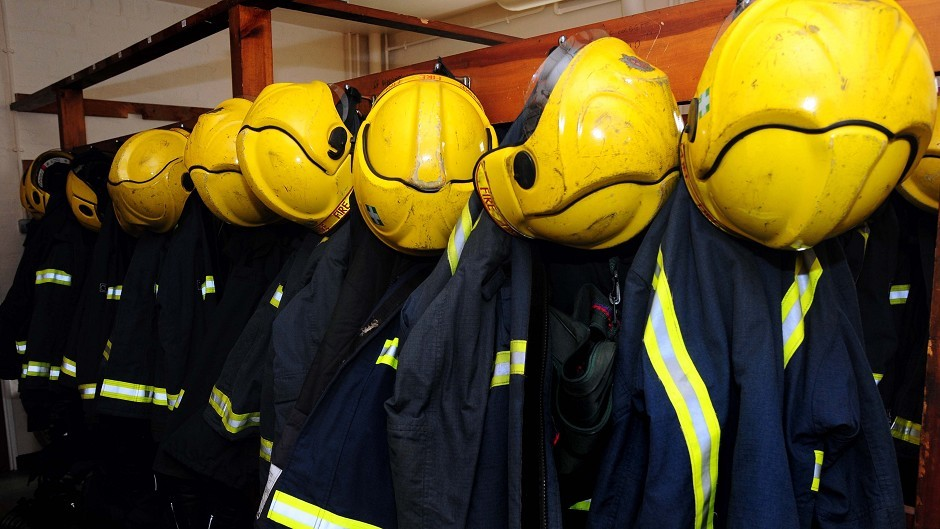 Firefighters are tackling flooding to properties in Caithness