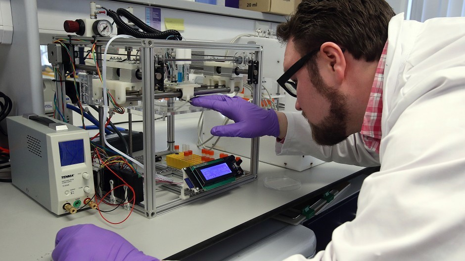 New centre will boost Scotland's growing life sciences sector