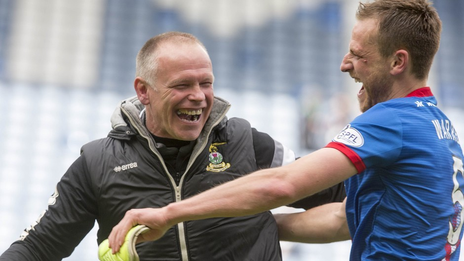 Gary Warren played under John Hughes at Caley Thistle.