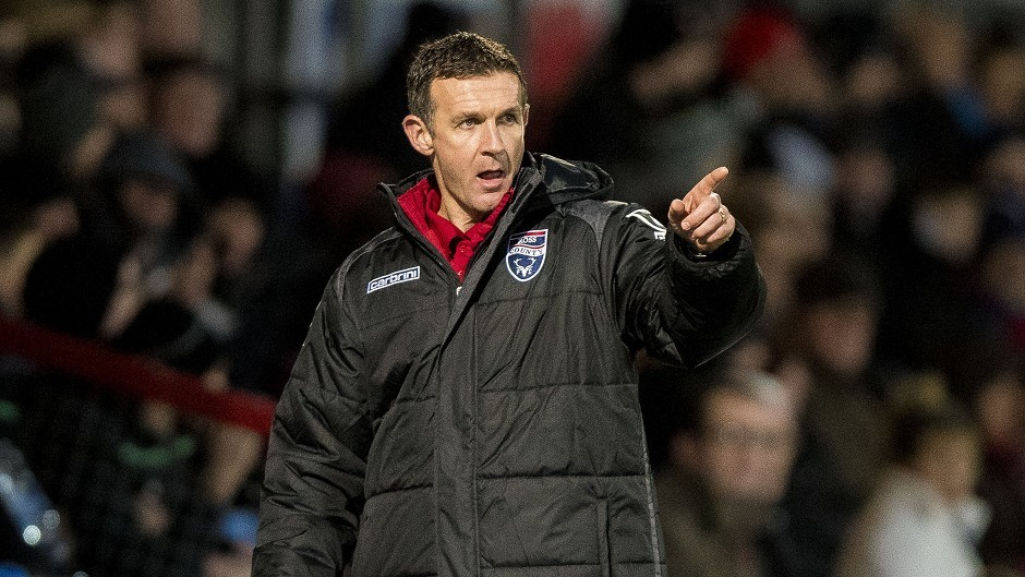 Ross County manager Jim McIntyre.