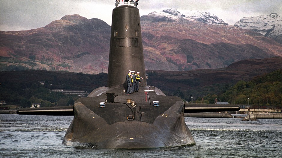 Trident is a divisive issue