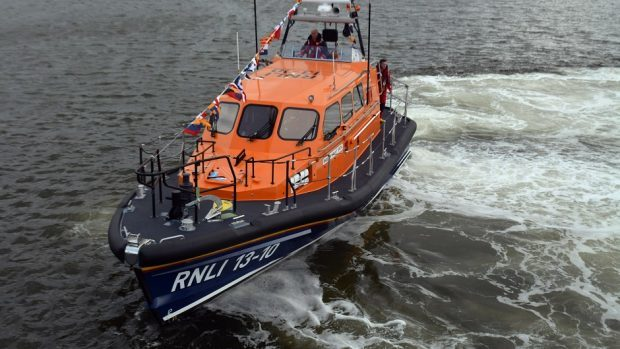 A rescue team was deployed from Stornoway.