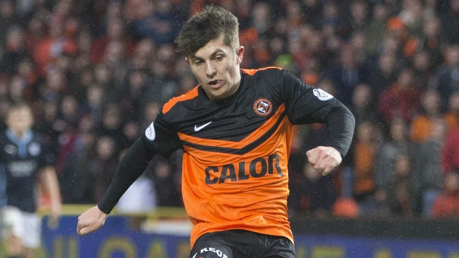 Dundee United's Charlie Telfer has joined Livingston on loan