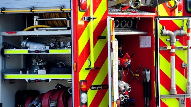 Firefighters were diverted to a second incident