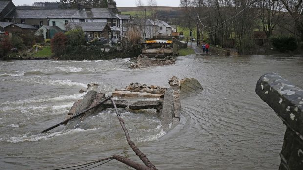 Storm Frank destroyed wide areas of the north-east