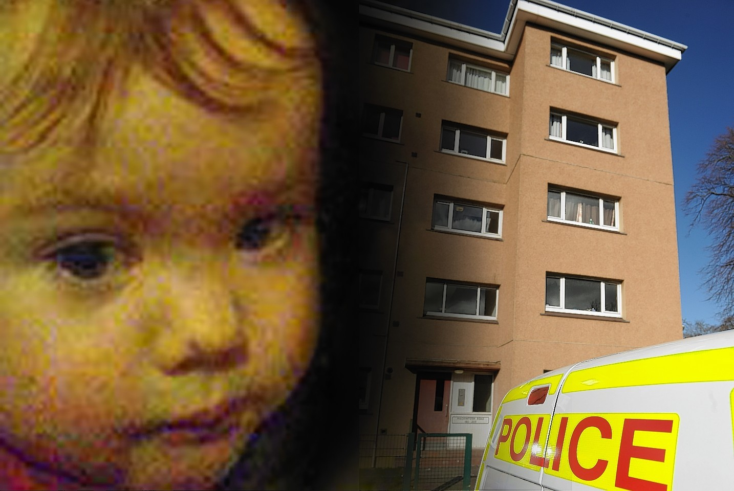 Two-year-old Clyde Campbell died in a flat in the Raigmore area of Inverness
