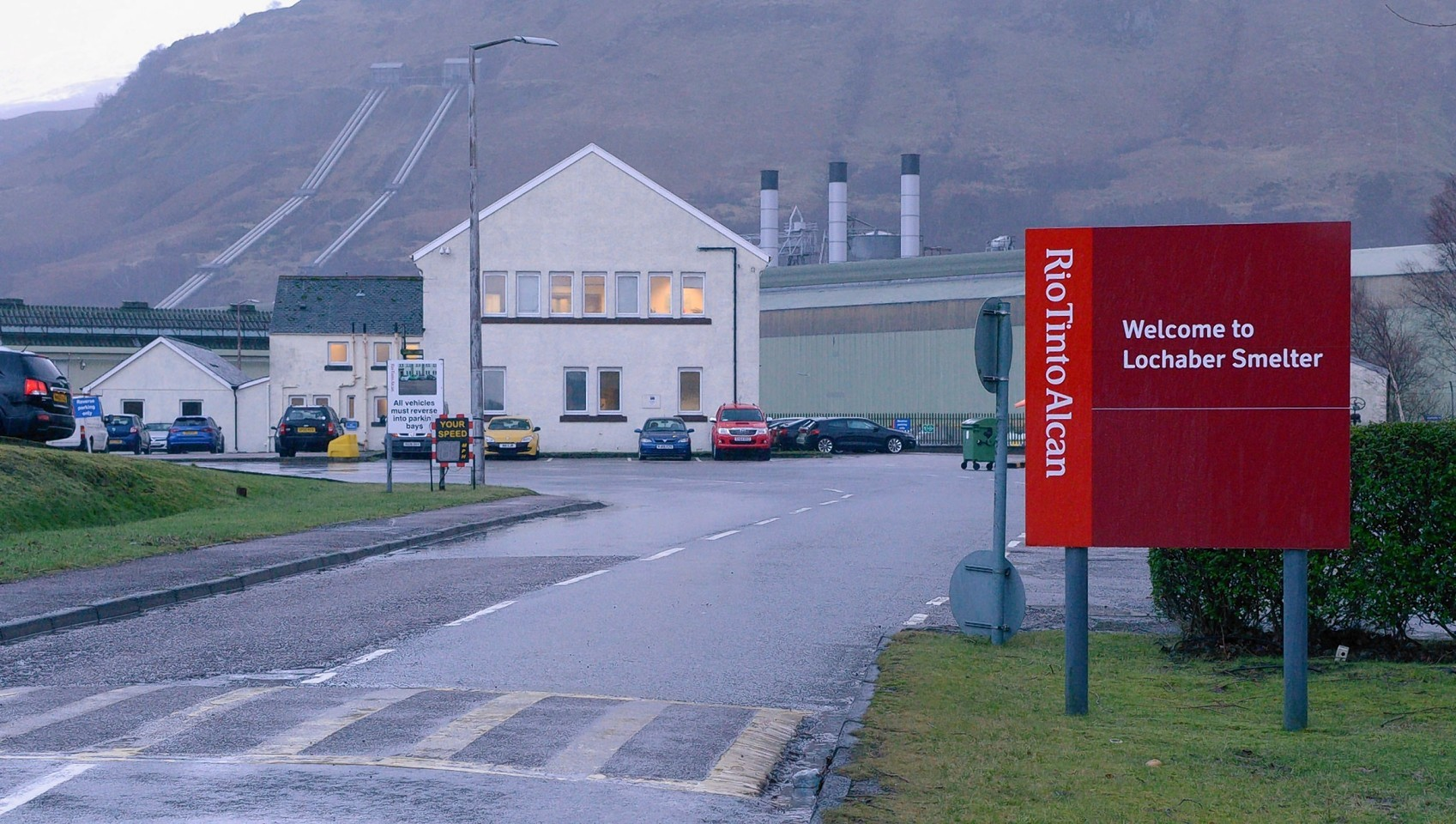 The Lochaber smelter at Fort William