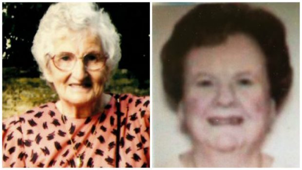 Police found the bodies of Rosemary Laing and Kathleen Edward