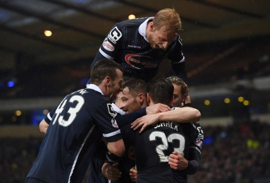 Ross County beat Celtic on their way to 2016 League Cup glory.